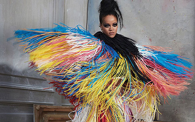 Rihannadan rəngarəng fotosessiya