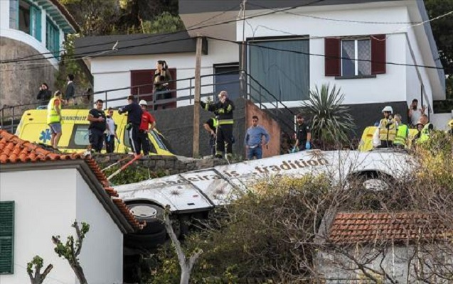 Portuqaliyada avtobus qəzasına görə matəm elan edildi