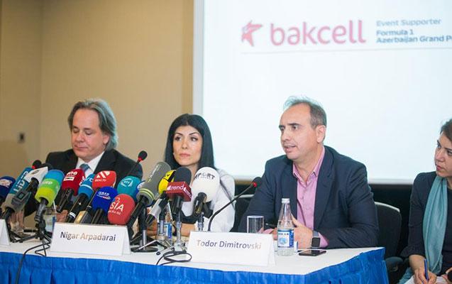 """""""Bakcell"""" Formula 1 Azərbaycan Qran Prisinin ilk rəsmi dəstəkçisi olub"""