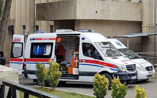 Bakıda avtobus qəzasında xəsarət alanar evə buraxıldı
