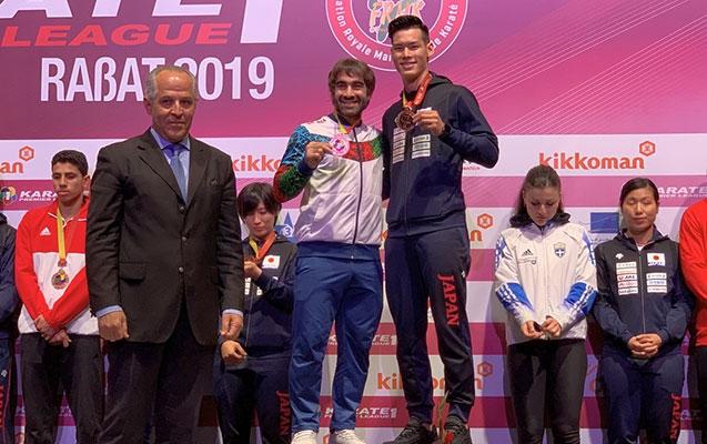 Rafael Ağayev bürünc medal qazandı