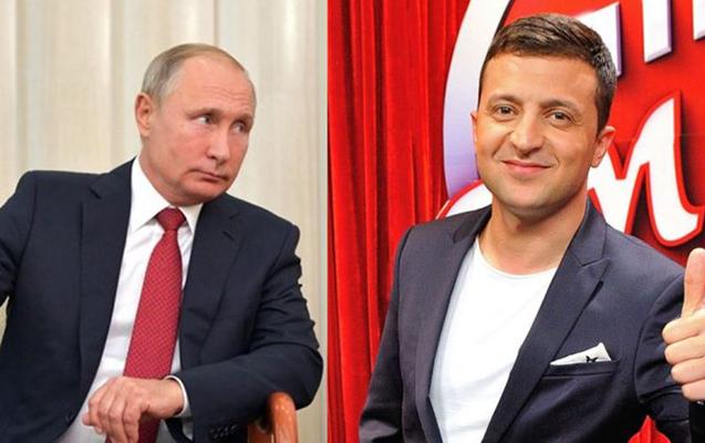 """""""Putin hələlik Zelenskini təbrik etməyi düşünmür"""""""