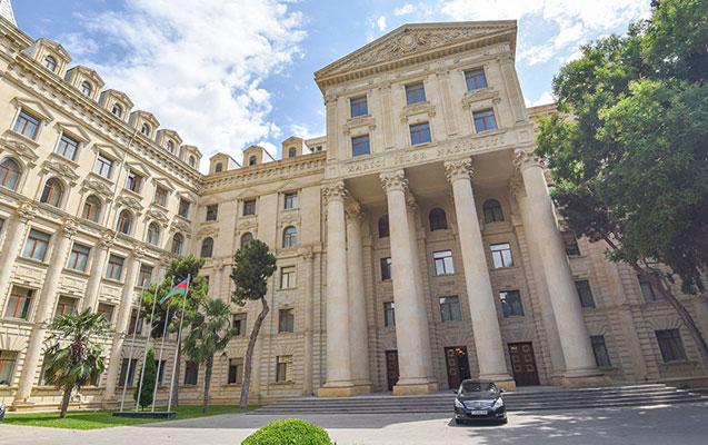 Azərbaycan XİN Ukrayna xalqına başsağlığı verdi