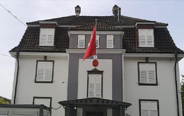 Türkiyə konsulluğuna hücum edildi