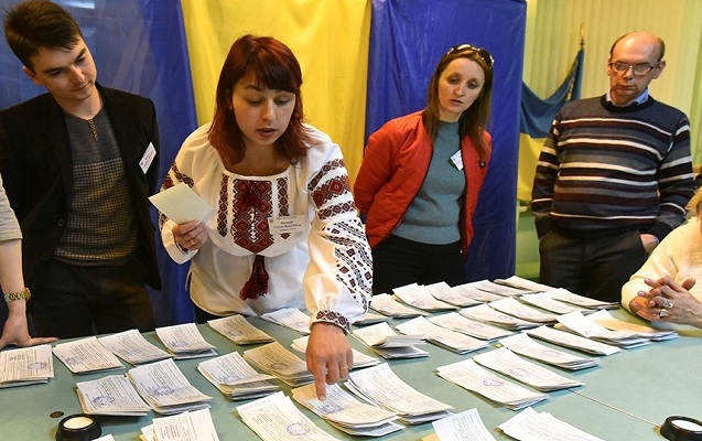 Ukraynada səslərin 99,85 faizi hesablanıb