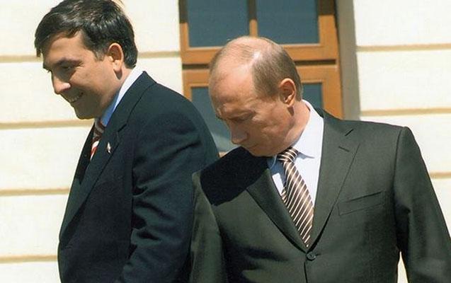 """Putin Zelenskiyə qarşı olaraq Saakaşviliyə """"sahib"""" çıxdı"""