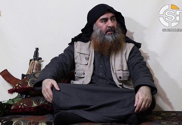 İŞİD liderinin 5 il sonra ilk videosu yayıldı - Məğlubiyyətini etiraf etdi
