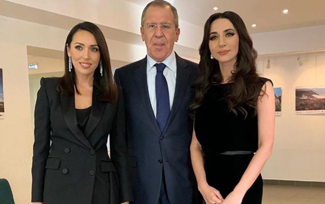 Alsu qalmaqaldan sonra Lavrovla görüşdü