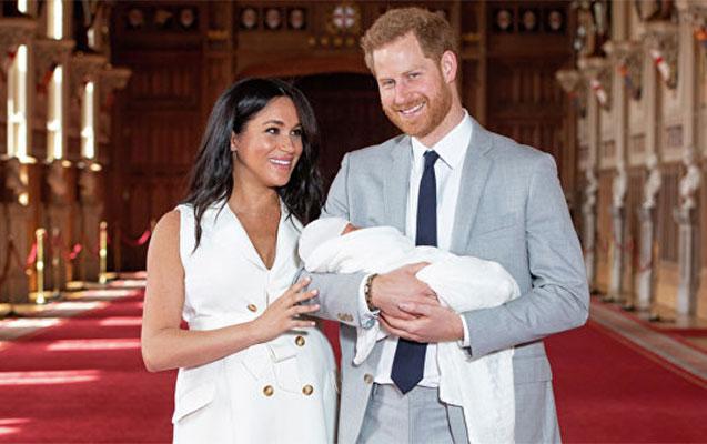 Yeni doğulan şahzadənin adı açıqlandı
