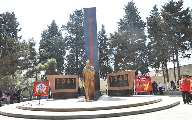 Abşeronda faşizm üzərində qələbənin 74 illiyi qeyd edilib