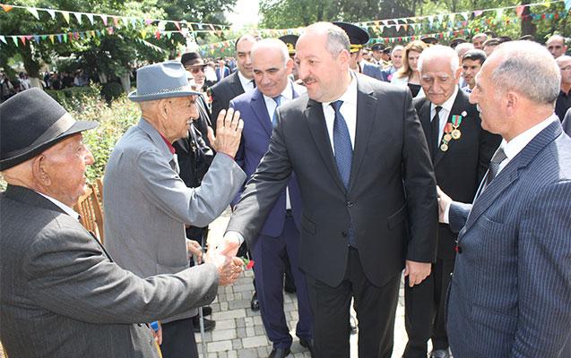 Cəlilabadda veteranların iştirakı ilə tədbir keçirilib