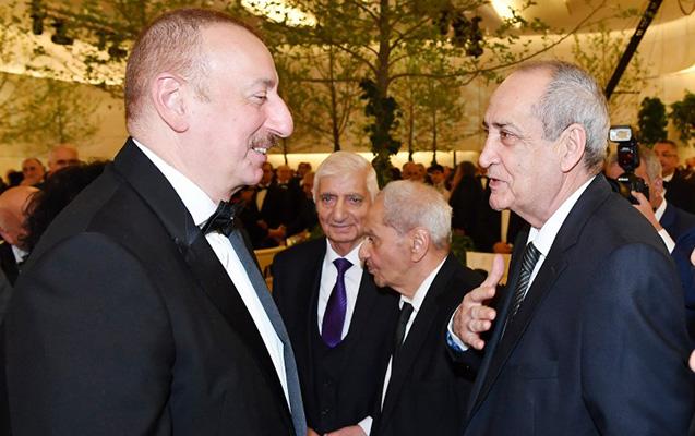 Prezident və xanımı Rasim Balayevlə görüşüb