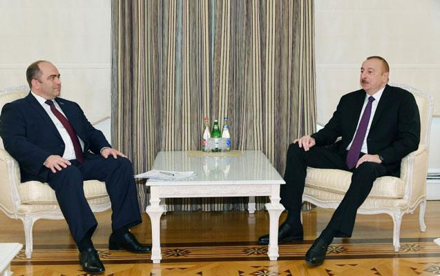 Prezident Lyaşenkonu qəbul edib