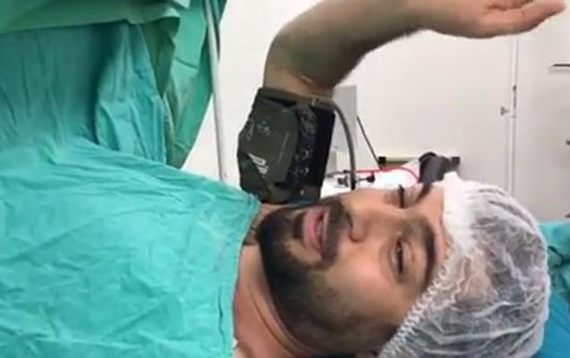 Namiq əməliyyatdan video paylaşdı
