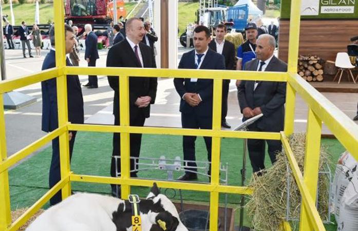 """""""Gilan Holding"""" Bakı Ekspo Mərkəzində təmsil olunur"""
