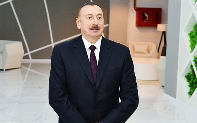 İlham Əliyev Bakı Sərgi Mərkəzində
