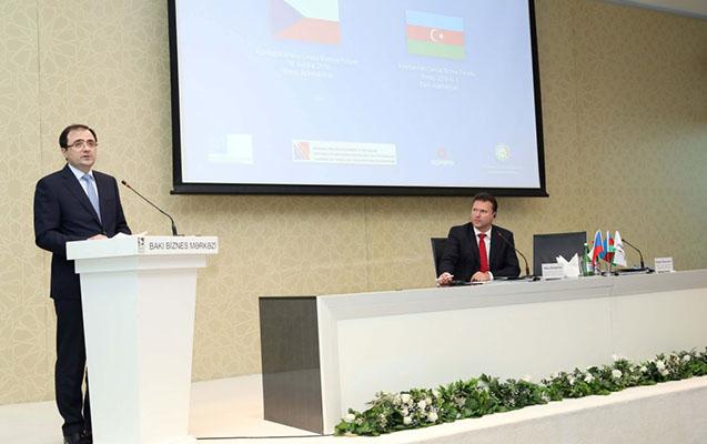 Azərbaycan-Çexiya biznes forumu keçirilib