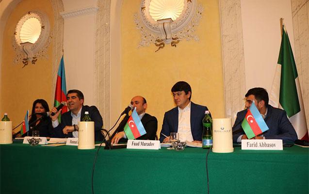 Azərbaycanlı gənclərin Roma forumu keçirilib