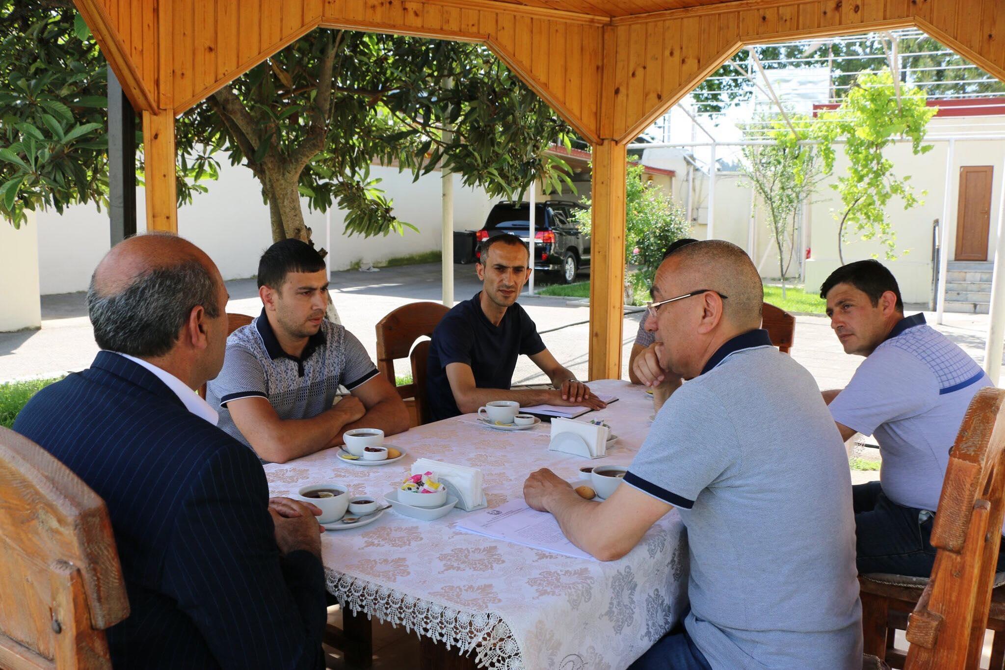Alimpaşa Məmmədov Dilqəm Əsgərovun oğlu ilə görüşdü – Fotolar