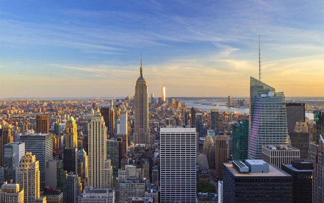 Nyu-Yorkun tarixi göydələni yanır
