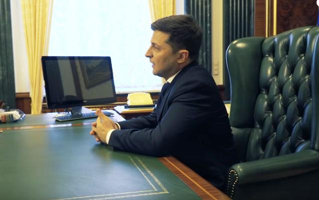 Zelenski prezident kreslosundan narazı qaldı