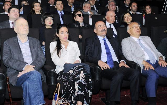Leyla Əliyeva cizgi filminin təqdimatında - Fotolar