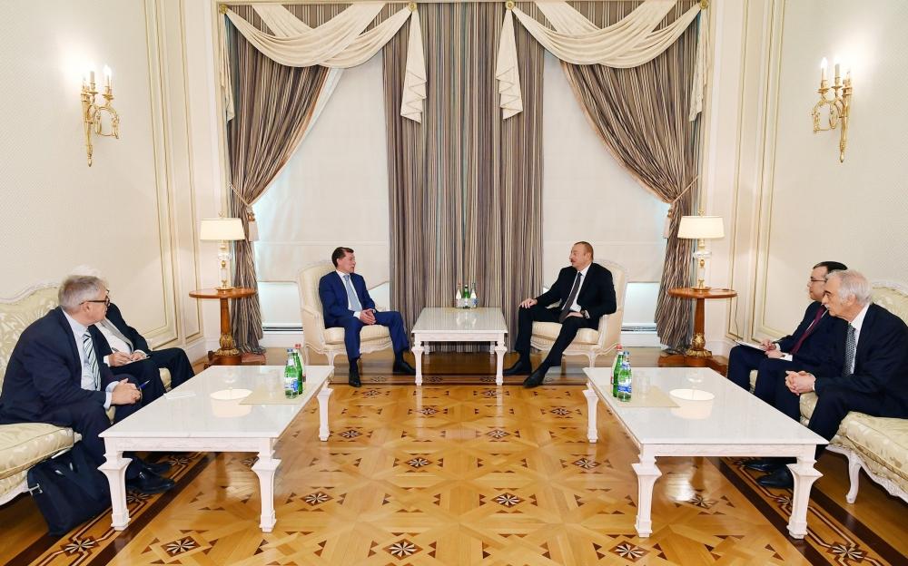 Prezident Topilini qəbul etdi - Foto