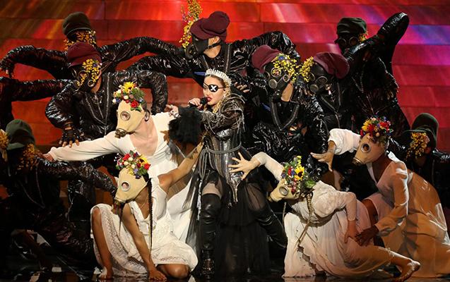 """Elə bildilər Madonna da """"Eurovision""""a qatılıb"""
