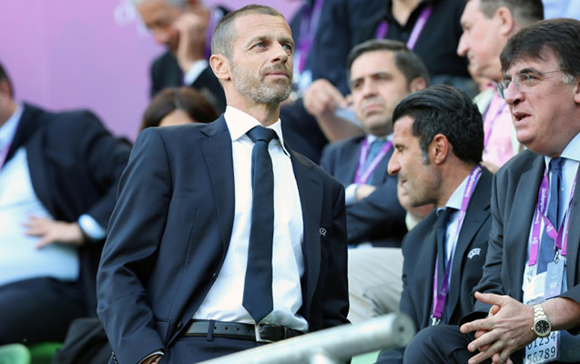 UEFA prezidentindən Bakıdakı final oyununa dəstək
