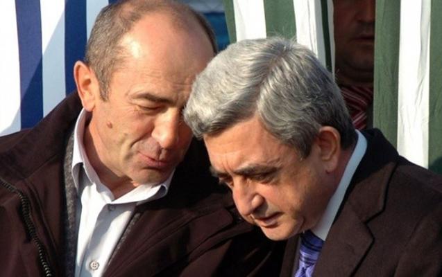 Sarkisyanla Koçaryan gizlincə görüşüblər