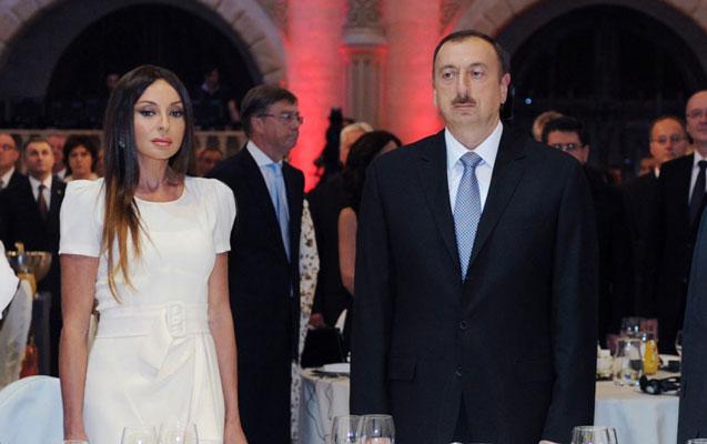 """Prezident xanımı ilə """"Buta"""" sarayında"""