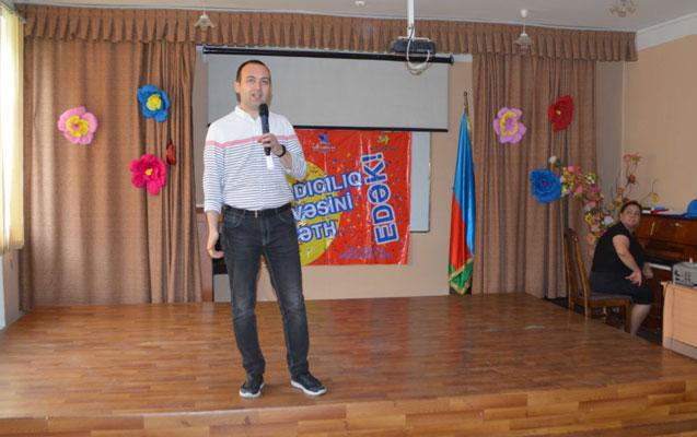 Nərimanov rayonunda yaradıcılıq müsabiqəsinin seçim turu keçirilib