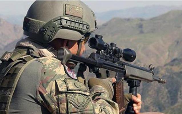 Türkiyə ordusu narıncı kateqoriyadakı terrorçunu məhv edib