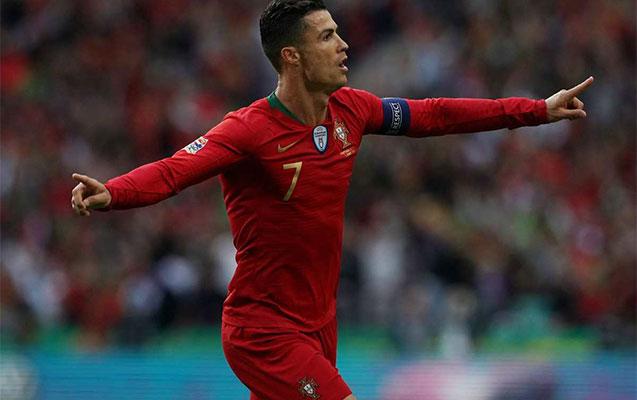 Ronaldo rekorda doğru