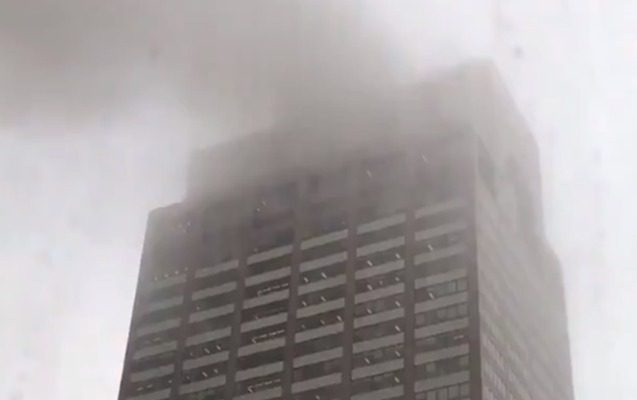 Nyu-Yorkda vertolyot göydələnə çırpıldı - Yenilənib + Video