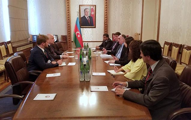Məmmədyarov ATƏT PA prezidenti ilə görüşüb