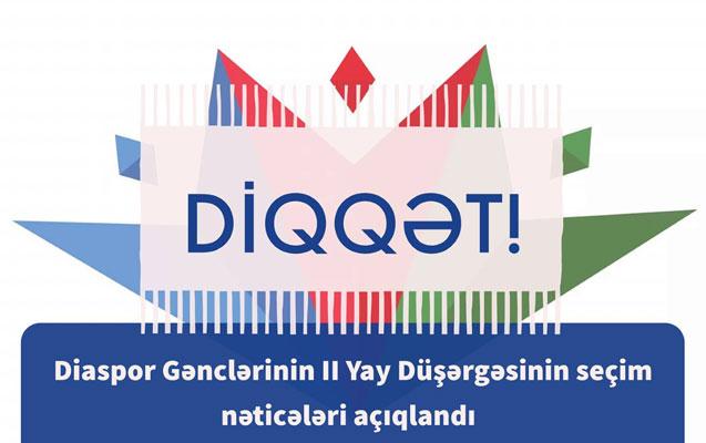 Diaspor Komitəsi düşərgə iştirakçılarını seçdi