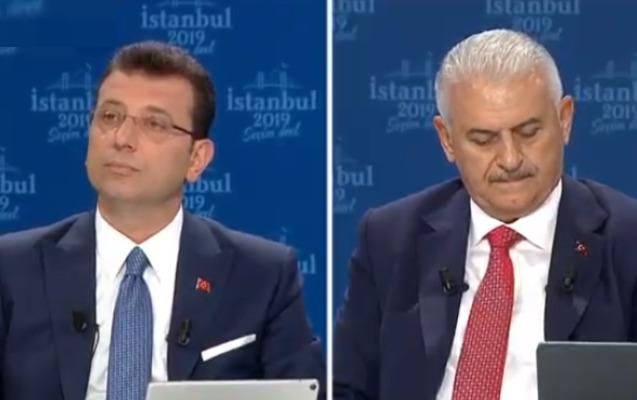 İmamoğlu ilə Yıldırım üz-üzə