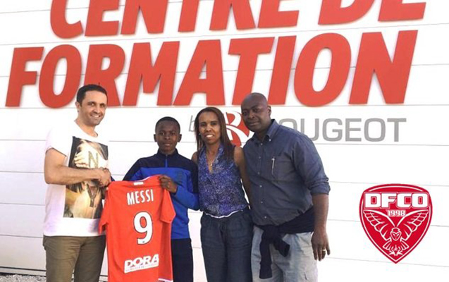 Messi Fransa klubu ilə müqavilə imzaladı