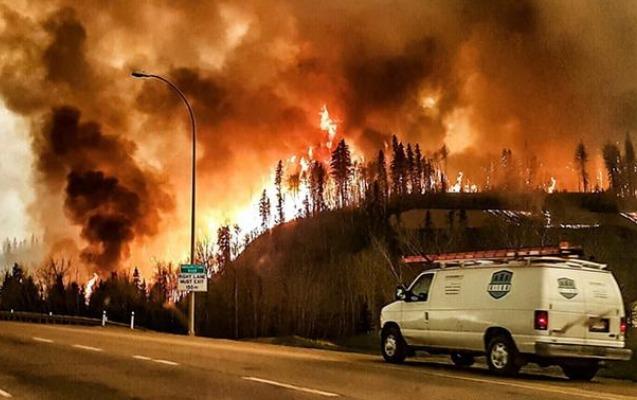 Kanadada meşə yanğınları - Minlərlə insan təxliyə edildi