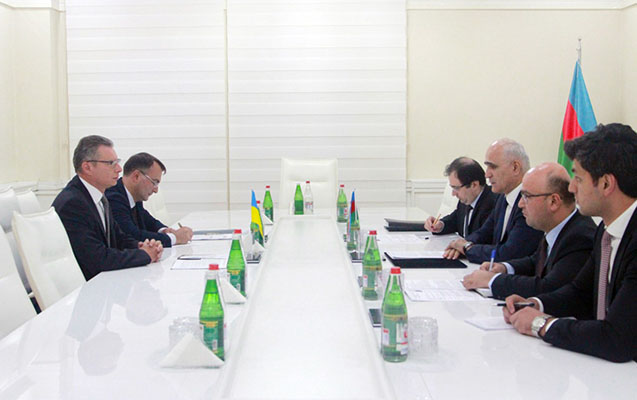 Azərbaycan-Ukrayna iqtisadi əlaqələri müzakirə edilib