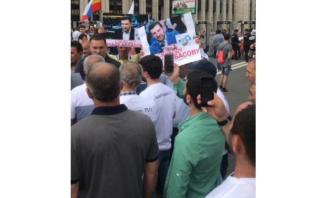 Moskvada Fuad Abbasova görə yenidən aksiyaya başlanılıb