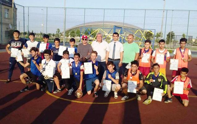Mini futbol üzrə yarışlar başa çatdı