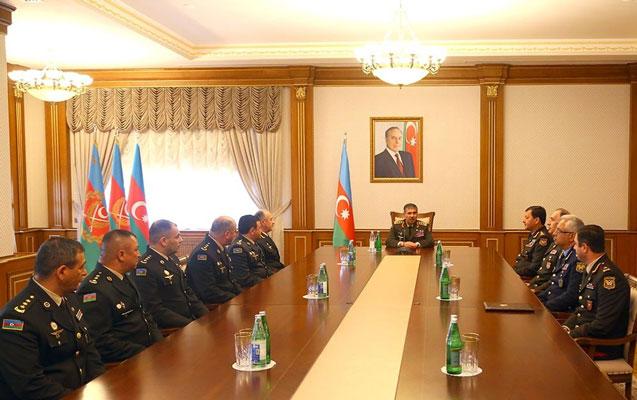 Zakir Həsənov general rütbələrini təqdim etdi