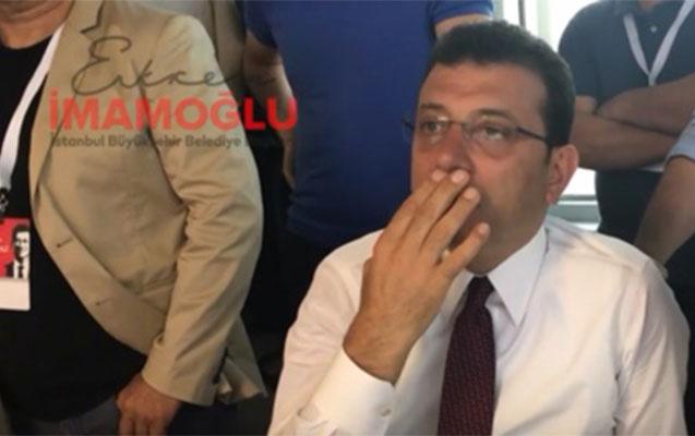 İmamoğlu Yıldırımın təbrikini belə izləyib