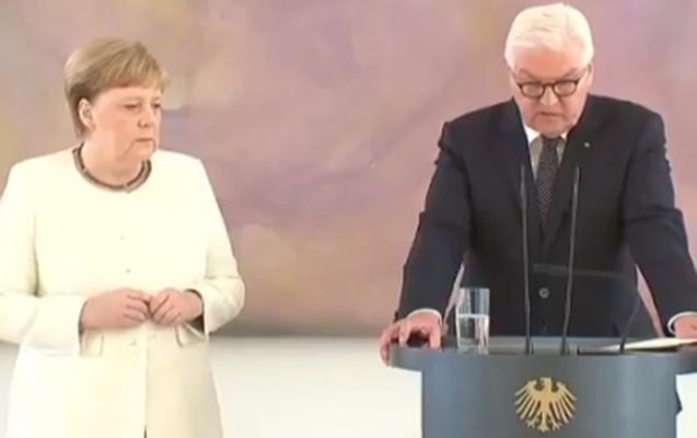 Merkelə nə olub?