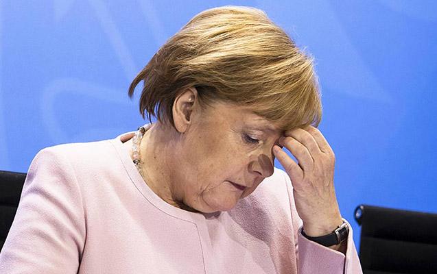 Merkel karantinə alındı