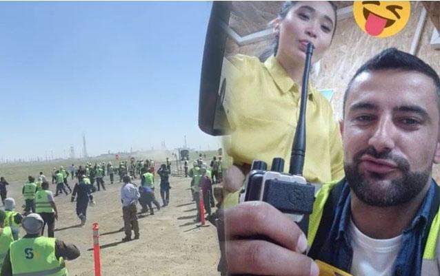 Qazaxıstanda namus üstündə kütləvi dava - 40 nəfər yaralandı+ Video
