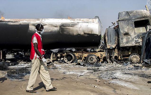 Neft tankeri partlayıb - 50 ölü, 70 yaralı
