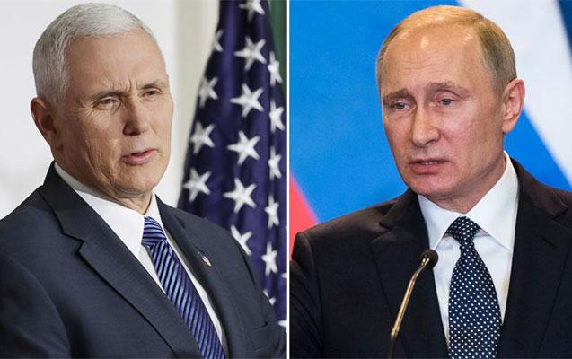 ABŞ və Rusiya ilə nə baş verir? - Pens geri çağrıldı, Putin təcili görüşə getdi